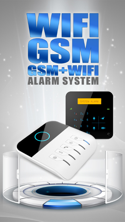 home alarm and automation. gsmwifi alarm automation system home and